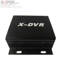 Wholesale Mini CCTV DVR recorder X DVR CH Playback Function Motion Detected Recording CH TF card support GB SD card New