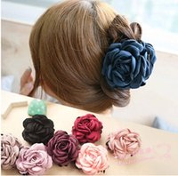 Cheap fabric flowers Best hair clips for girls