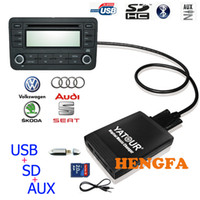 audi changer - Yatour Car Digital CD Music Changer USB MP3 AUX adapter For ISO Pin VW Audi Skoda Seat yt m06