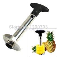 pineapple peeler - G104Easy Kitchen Tool Stainless Steel Fruit Pineapple Corer Slicer Cutter Peeler