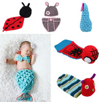 Cheap Unisex Baby Beanie Costume Sets Best Spring / Autumn Sleeveless Baby Cosplay Clothes