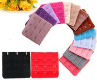Wholesale Ladies row Hooks Bra Strap Long Extender Hook Clip Nude Adjustable Belt Buckle Color Optional a807