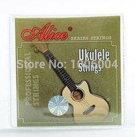 Wholesale Promotion Alice AU041 Clear Nylon Hawaii Guitar Soprano Concert Tenor ukelele Ukulele Strings set st th