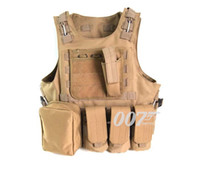 Wholesale Fall New Tactical Vest Molle Combat Strike Plate Carrier Vest Steel Wire Vest Outdoor Military Equipment D