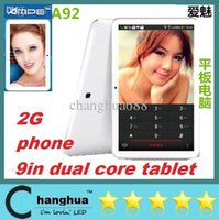 Cheap 9IN A92 Tablet Best 2G Phone Call Tablet