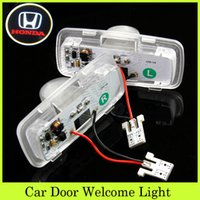 accord laser - LED Projectors Light Car Door Welcome Shadow Ghost Light Courtesy Laser Car Logo LED Lamps Fit Honda Accord Accord Crosstour