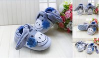 kids shoes cheap - Lovely donkey baby shoes Cartoon boys girls shoes Casual infant shoes anti slip kids single shoes gray toddler shoes cheap pairs J