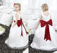 best yams - 2015 Best Selling Little Girl Zou Yam Flower Girls Dresses Floor Length Square Ball Gown Sleeveless fit Wedding Birthday Fathers day Dress