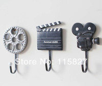 Wholesale New Arrival Creative Coat Hook Wall Hanger Film Equipment Design Wall Decoration Hook Hot Selling