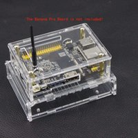 Wholesale Acrylic Double deck Case Transparent Box for Banana Pi Pro order lt no track