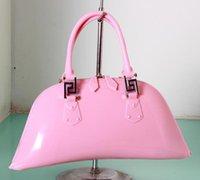 silicone handbags - Factory Price new women bag handbags designer fashion luxury handbag shell tote bags silicone plastic bag shoulder bag hobos bags