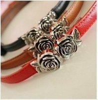 Wholesale Free ship pc Retro Rose head patent leather color Women decorative thin belt order lt no tracking