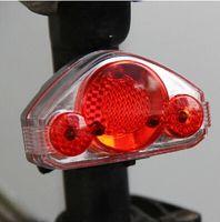 Wholesale Bicycle light Bike Laser Light Cycling Safety Led Lamp Bike Light Bicycle Rear Tail Light