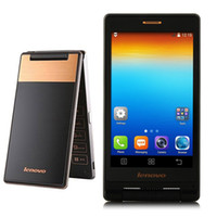 Android gsm phones unlocked - Original Lenovo A588T Filp Smart Phone Inch MTK6582M Quad Core Android4 Single Front MP Camera G GSM Unlocked Phones