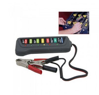 battery condition tester - 12V Led Digital Battery Tester For Cars and Trucks Electric bicycle with Led lights Display Indicates Condition