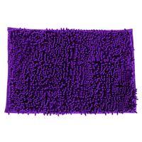 non slip bath mat - Chenille Non slip Strong Water Absorbent Bath Mats Carpet Doormat Bathroom Products Colors x40cm