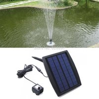 Wholesale 2015 New Fashion Pretty Solar Powered Water Floating Pump W Fountain Garden Plants Pool Watering Solar Pump Factory Price
