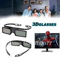 2 PCS mucho Bluetooth obturador 3D gafas activas para Samsung / Panasonic para Sony 3DTVs Universal TV 3D Glasses