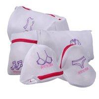 Wholesale 5 set Women Hosiery Washing Lingerie Wash Protecting Mesh Bag Laundry Saver