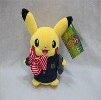 baby center toys - Retail cm Pikachu Cosplay Stuffed Animals Plush Toys Cartoon Movies TV Pocket center Stuffed Dolls Pikachu Anime Baby Toy