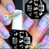 Wholesale Designs BORN PRETTY Nail Art Stamp Template Image Stamping Plate DIY Manicure QA Series NP