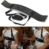 bicep bomber - Adjustable Fitness Supporter Arm Blaster Body Bicep Building Bomber Weight Lifting Straps