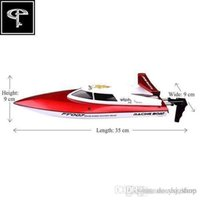Wholesale New Channel G RC Remote Control High Speed Racing Boat FT007 Kids Gifts