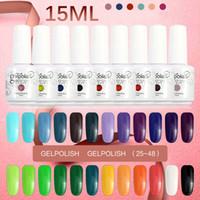 Wholesale Fashion UV Gel Nail Polish Soak Off Matte ml Nail Polish Gelpolish Manicure Decoration Vernis Semi Permanent
