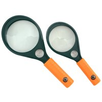 Wholesale Big Size Magnifying Glass Magnifier Loupe X Helping Hand Pocket Microscope Soldering Iron Stand With Compass