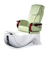 Wholesale 2016 Shiatsu Massage Pipless Jet Whirlpooling Fiberglass Basin Manicure and Pedicure Spa Chair for Nail Beauty Salon Equipment