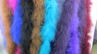Wholesale High Quality Thick M Strip Dress Feather Fabrics Accessories Turkey Feathers Real Feather Boa Party Supplies Clothing Accessories DIY Dec
