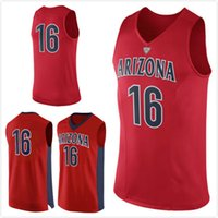 arizona wildcats college - No Arizona Wildcats College Basketball Jersey embroidery setback cheap Jerseys men size S XL fast shipping