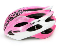 Wholesale 341 Women sakura Road Bike Bicycle Helmet Safety Cycling Integrated Molding Helmet Bike Head Protect Bicycle Sports Ventilative Helmets