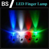 Wholesale LED Finger lamp Finger Ring Lights Glow Laser Finger Beams Party Flash Finger lights Kid Toys Colors Gifts for kids