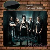 amy game - New Game Mouse Pad American Rock Band Evanescence Cool Poster Amy Lee Soft Black Custom Fashion Personalized Mice Mat