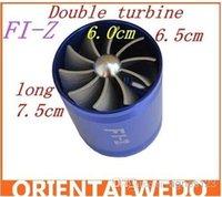 Wholesale turbo fan double fan Aluminum Alloy Power Launcher Double Turbine freeshipping