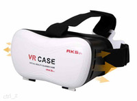 """Android and IOS 3.5 Not Included 2016 Google Cardboard 3D Movie VR Case Head Mount Plastic VR BOX Version Virtual Reality Glasses for 3.5"""" - 6.0"""" Smart Phone"""
