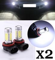 Wholesale 2 H11 Xenon WHITE W HIGH POWER CREE LED Car Fog Bulbs hot