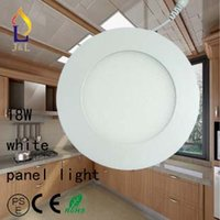 Wholesale Fedex Lot3W W Led Ceiling Light SMD2835 leds Warm cold natural Led down Light AC85 V Led round Panel Light