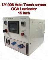 Wholesale LY auto touch screen OCA vacuum laminating machine for inch LCD screens