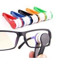 Wholesale Fashion Hot Mini Sun Glasses Eyeglass Microfiber Brush Cleaner Home Office Easy