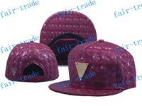 Cheap new Hater Snapback Hat Leather Intrecciato Brim Gold Logo foamposite metallic, Adjustable W GOLD Logo EMBLEM HAWAII FLOWERS ball caps Hats