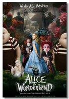 alice plane - 2014 New Alice in Wonderland4 D Home Decor Movie Poster Customized Fashion Classic x76 cm Wall Sticker DGT