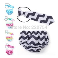 chevron clothing - fashion pink chevron diaper cake clothing sets baby bloomers diaper covers and Tie Set newborn diaper covers baby shorts
