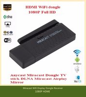 Cheap New Wireless TV Stick WIFI Miracast Display Dongle Receiver 1080P HDMI IPUSH AirPlay DLNA for Windows Android IOS ezcast