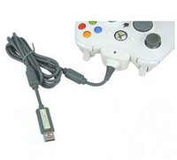 Wholesale 2015 Xbox360 Game Controller Charger Cable in1 Replacement USB Charging Cables for Xbox Wireless Game Controller Game Accessory DHL Hot