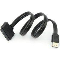 Wholesale Dual Power eSATA USB V V Combo to quot quot Pin SATA Hard Disk Cable cm F1109 W0