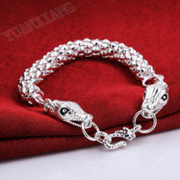 Wholesale European and American fashion exquisite double headed snake bracelet Ms M