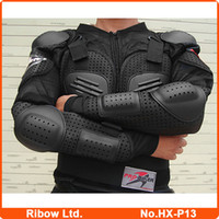 armour suit - Motocross body armor Motorcycle protector jacket full body armour suit Moto racing protective clothing free ship HX P13