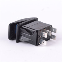 Wholesale Luxury yacht modification switch Car LED switch Ship reset switch